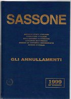 ITALIE  CATALOGUE SASSONNE 1999 1070 GRAMMES - Italie