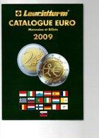 CATALOGUE EURO LEUCHTTURM MONNAIES ET BILLETS EURO 2009 570 GRAMMES - Boeken & Software