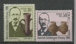Germany DDR 1990 Heinrich Schliemann Dies MNH** C.V. 1,50 Euro - [6] République Démocratique