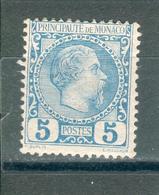 MONACO ; 1885 ; Y&T N° 3 , Neuf - Neufs