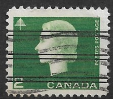 Canada 1963. Scott #402 (U) Queen Elizabeth II And Tree - Canada