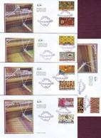 FRANCE 2011- Série Yvert 512/513 Tissus Du Monde Sur Enveloppes 1er Jour 21/01/2011 - FDC
