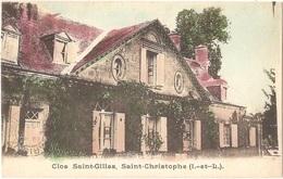 Dépt 37 - SAINT-CHRISTOPHE-SUR-LE-NAIS - Clos Saint-Gilles, Saint-Christophe - (colorisée) - Autres Communes