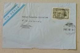 Busta Di Lettera Per Via Aerea Uruguay-Rapallo (Ita) - 19/12/1949 - Uruguay