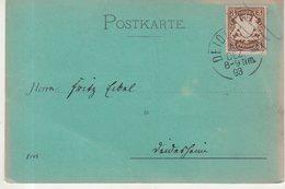 """BAVIERE : CP . DECOREE """" LE CHASSEUR ET SON CHIEN """" . 1893 . - Bavaria"""