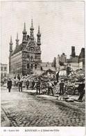 - Carte Postale - Leuven - Louvain - Guerre 1914 L'hôtel De Ville - Leuven