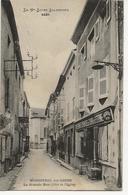 MONISTROL SUR LOIRE  La Grande Rue (Côté De L'Eglise)  - (Etablissements Economiques Du Casino De Saint Etienne N°81) - Monistrol Sur Loire
