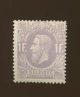 1F Pâle. *  N° 36 * Cote 600,-€  Petite Charnière Mais Petit Mince - 1869-1883 Leopold II