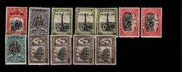 430 - 439 Ex Geschichte Portugals Unabhängigkeit Mit Neuem Wertaufdruck MLH * Falz (4) - Nuovi