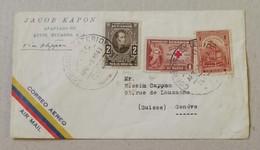 Busta Di Lettera Per Via Aerea Quito-Ginevra (CH) - 05/04/1947 - Ecuador