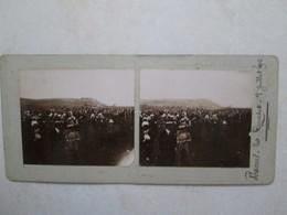 (recto Verso) Vesoul Les Courses 7 Juillet 1912 -- Idem - Photos Stéréoscopiques