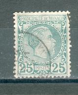 MONACO ; 1885 ; Y&T N° 6 , Oblitéré - Monaco