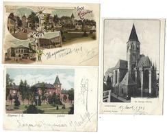 67 - HAGENAU - HAGUENAU - Lot De 3 CPA - 1901 - Haguenau
