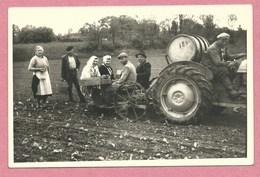 67 - SCHILTIGHEIM - Carte Photo - Machines Agricoles - Tracteur - Labour - Eugène DOTTENFELDT - 3 Rue Des Chasseurs - Schiltigheim