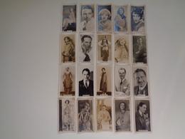 Chromo ( 1325 )  Lot De 20 Chromos Ciné  Cinéma Stars Artiste  Acteur - Cigarettes Cards  Sigaret  Cigarettes - Chromos