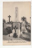 COSSE EN CHAMPAGNE - LE MONUMENT COMMEMORATIF DE LA GUERRE 1914/1918 - 53 - France