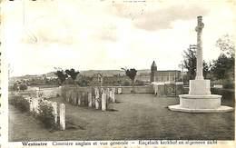 CPSM - Belgique - Westoutre - Cimetière Anglais Et Vue Générale - Heuvelland