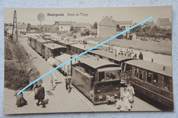 CPA BOURGEOIS Rixensart Lasne TRAM VICINAL A VAPEUR Tramway Brabant Wallon Gare - Rixensart