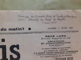 Journal Le Gaulois Du Samedi 7 Mars 1925 - Journaux - Quotidiens