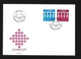 Liechtenstein FDC 1984 Europa CEPT (G109-16) - 1984