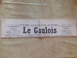 Journal Le Gaulois Du Mercredi 13 Fevrier 1924 - Journaux - Quotidiens