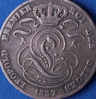 LEOPOLD I 5 CENT 1857  ZIE 4 SCANS  ZIE N°5 - 1831-1865: Léopold I