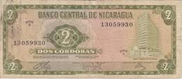 BILLETE DE NICARAGUA DE 2 CORDOBAS DEL AÑO 1972  (BANK NOTE) - Nicaragua
