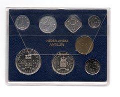 NEDERLANDSE ANTILLEN MUNTSET 1981 FDC - Antilles Neérlandaises