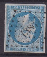 """FRANCE : PC 1386 . """" GRENOUILLAT """" . (22) . N° 14 . TB . ( CATALOGUE MATHIEU ) . - Marcophily (detached Stamps)"""