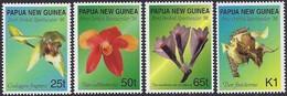 Papouasie Papua New Guinea 1998 Yvertn° 800-803 *** MNH Cote 4,00 Euro Flore Orchidées - Papua-Neuguinea