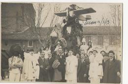 AVIGNON (sous Réserve)  CARTE PHOTO Du Char De L'Aéro-Club Cavalcade Du 14 Mars 1919 Selon Mention Manuscripte Au Crayon - Avignon