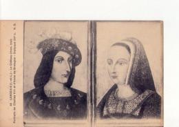 CPA - 37 - 42 - LANGEAIS  - LE  CHATEAU  - PORTRAITS DE CHARLES VIII ET D'ANNE DE BRETAGNE  - N° 45 - - Langeais