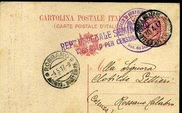 SP86 POSTA MILITARE INTENDENZA  GORIZIA REP. OSPEDALE SEMINARIO PER ROSSANO CALABRO - 1900-44 Victor Emmanuel III