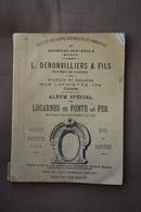 Societe Hauts-fourneaux De SERMAIZE-sur-SAULX-L.Denonvilliers Maitre De Forge-Lucarnes En Fonte De Fer-voir Scans - Bricolage / Técnico