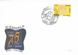 35668. Carta Exposicion CALPE (Alicante) 2006. Musica. Union Musical  Calp - Ifach - 1931-Hoy: 2ª República - ... Juan Carlos I