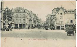 M - CPA - 51 - REIMS -  Rue De L'Etape - Reims
