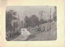 J36 - Photo Originale - ALLEVARD - Isère - Course Automobile - Places