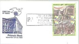 FDC 1988 - Filipinas