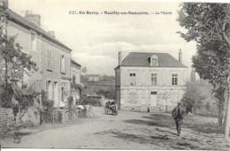 D18 - NEUILLY EN SANCERRE - LA MAIRIE - EN BERRY - Couple Dans Une Calèche - Homme à Casquette Mains Dans Les Poches - Autres Communes