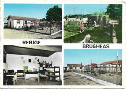 D03 - VICHY - S.P.A. - REFUGE BRUGHEAS - L'ENTREE DU CHENIL/L'INTERIEUR DU COIN CHATERIE/PARC DES CHATS/LE CHENIL - Vichy