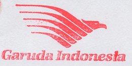 Meter Cut Netherlands 1998 Garuda Indonesia Airlines - Aviones