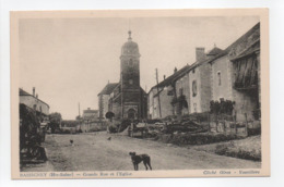 - CPA BASSIGNEY (70) - Grande Rue Et L'Eglise - Cliché Giroz - Vauvillers - - Altri Comuni