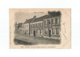 """Doel Sur L'Escaut  -  Hôtel """"La Rose"""" Près De La Digue, Tenu Par A. Panis-Degroot (1901). - Beveren-Waas"""