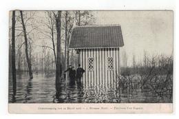 7.Hamme (Bunt) Overstrooming Van 12 Maart 1906 -  Pavilloen Van Bogaert - Hamme