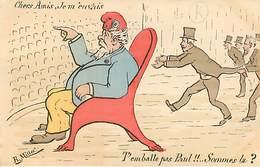 Paul Doumer Carte  Satirique Caricature - Satiriques