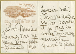 Lina Cavalieri (1874-1944) - Opera Singer & Actress - Autograph Letter Signed - Autographes