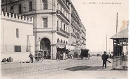 ALGER - LE BOULEVARD DE FRANCE - Alger