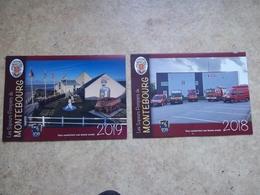 Calendrier Pompier De Montebourg (50) Lot De 2 - Calendriers