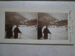 Concours De Skis Au Ballon D'alsace 18 Janvier 1914 - Photos Stéréoscopiques