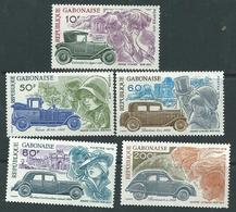 Gabon N° 391 / 95 XX  Centenaire De La Naissance D' André Citroën, Les 5 Valeurs Sans Charnière, TB - Gabon (1960-...)